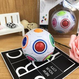 Niños niñas mágica bola descompresión juguete antiestés cubo niños rompecabezas educación educación aprendizaje juguetes para niños adultos oficina oficina anti trenza