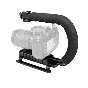 Type DV Hand Motion Stabilizer Stable Frame Grip C Shaped Camera Handheld Holder Flash Bracket For Video DSLR Accessories Stabilizers