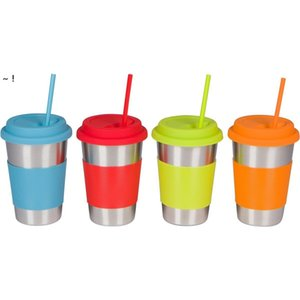 25cm Colorful Silicone Straws Food Grade Straight Bent Straw Fruit Juice Milk Tea Drinking Pipe Bar Party Accessory RRE10651