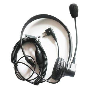 2 pin Over Headset Headset Boom Mic Fone de Ouvido Fone de Ouvido Vox PTT para Motorola Radio Spirit Series SV10 SV11 SV11D SV21 SV12 SV22C GP2000 GP300 GP308 GP68 GP88 GP350