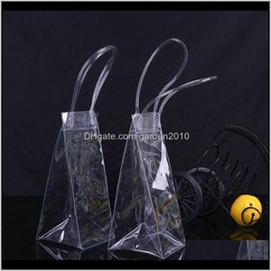 Buckets And Coolers Durable Clear Transparent Pvc Champagne Wine Ice Pouch Cooler Bag With Handle Fast Wb729 Wxxvm Hdbek