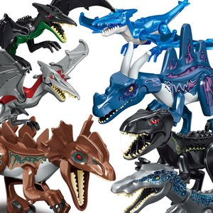 Special large Jurassic dinosaur building block assembly toy pterosaur song of ice and fire