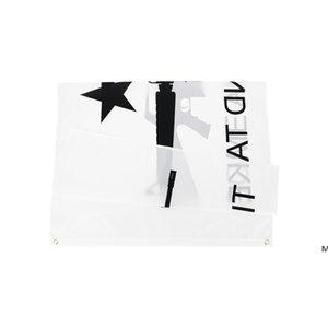 50 pcs direto fábrica atacado 90 * 150cm 3x5fts Gonzales Histórico M4 Carbin Gun Molon Labe Venha e pegue a bandeira DHE5571