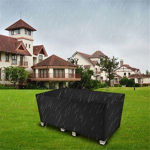 170 * 94 * 70 cm Sedia in stoffa Oxford Coperchio Nero Mobili Nero Proteggi Tavolo da esterno da polvere Rain e Sun Durevole Tessile per la casa resistente alla corrosione