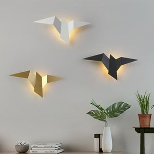 Wall Lamps Nordic LED Bedroom Decoration Flying Bird Lights Indoor Modern Lighting For Home Stairs Bedside Light