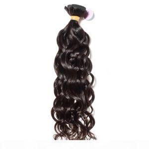 Mejor 10A Sin procesar Virgin Virgin Human Hair Wave Wave Weight and Wavy Brasileño Brasileño India India Malasia Color natural Color natural puede blanquear