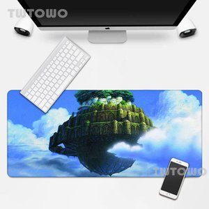 Mouse Pads & Wrist Rests Laputa Castle In The Sky Pad Computer Large Table Mat MousePad Desk Keyboard Natural Rubber Carpet Home