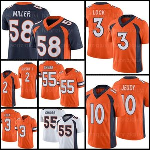 "2 Patrick SURTAIN II 58 VON Miller Jerseys Денвер ""Бронкос"" Футбол 10 Джерри Чеуды 18 Peyton Manning 3 Draw Lock Melvin Gordon III 25 Javonte Williams Chubb"