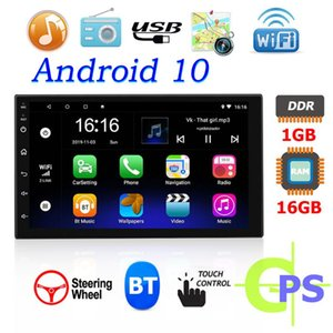 Inch Single Din Wireless Bluetooth WiFi Car GPS Navigation System Android 10 MP5 Multimedia Player Coche Automovil & Accessories