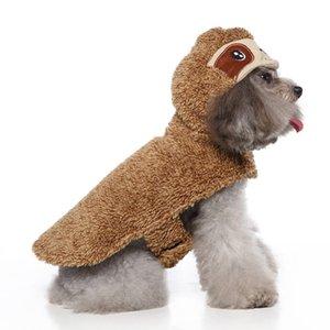 Личность мода на открытом воздухе одежда для собак мягкий теплый тедди Шнауцер бульдог пальто мультфильм одеваются домашние куртки