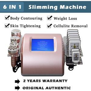 2 Jahre Garantie Ultraschallkavitation Fett Abnehmen Maschine Lipo Laser Gewichtsverlust Radiofrequenz Haut Anziehen Schönheit Ausrüstung 5 Köpfe