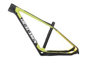 자전거 프레임 2021 29er 전체 탄소 MTB 프레임 BB92 어댑터 자전거 142 * 12mm 스루 액슬 마운틴 디스크 브레이크