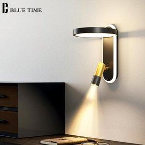 Wall Lamps Modern LED Home Indoor Decor Sconces For Living Room Bedroom Bedside Light Black Lights Creative Small Lamp