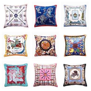 Square Cushion Cover Decorative Pillows Case Home Decor Throw Pillow Sofa Pillowcase High Quality Velvet Cushion Case