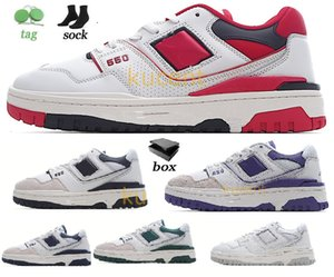 New BB550 b550 550 Basketball nb Designer Skate Shoes White Navy Green Men Women Trainer Sports LowTop Sneakers leather Rubber outsole for outdoor sea sault suede bia