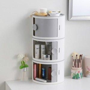 Kosmetische Aufbewahrungsbox Desktop Tissue Sanitärserviette Rolle Paper Boxen Bins