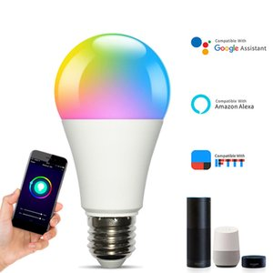 WiFi Wireless LED Bulb Smart Controller Compatible with Alexa Google Home,Working with Android,iOS System, RGB LED Strip Lights In Stock