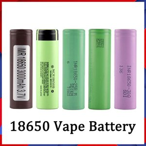 Großhandel 18650 Batterie HG2 30Q VTC6 3000mAh NCR 3400mAh 25R 2500mAh E CIG MOD Wiederaufladbare Li-Ion-Zelle