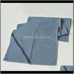 Cover-Ups Equipment & Outdoors Drop Delivery 2021 Green World Sport Running Towels, Quick-Drying With Pocket ,Outdoor Sports Cycling Swimming