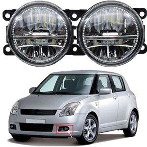 2pcs Cawanerl For Suzuki Grand Vitara 2   II JT 2005-2015 Car LED Bulb H11 Fog Light DRL Daytime Running Light 12V