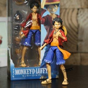 Megahouse متغير عمل الأبطال Luffy Ace Zoro Sabo Law Nami Dracule Mihawk PVC عمل الشكل النادرة نموذج لعبة X0526