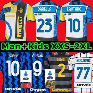 maglia da calcio INTER 2021 edizione speciale Quarta 4 ° LUKAKU MILAN VIDAL BARELLA LAUTARO ERIKSEN ALEXIS HAKIMI 20 21 divise maglia da calcio uomo + kit bambino terza