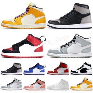 2021 infant baby boy Basketball shoes kids Jump 1 High OG Designer Toddler baskets enfants Sneakers trainers
