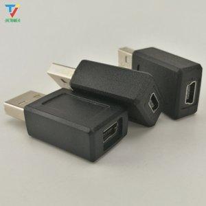 Wholesale 500pcs lot USB 2.0 mini 5 Pin Female to USB male Adapter Converter