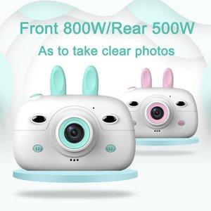 Цифровые камеры Симпатичные Детская Камера Дети Поляроидный HD Мультфильм Видео Игрушка для подарка на день рождения
