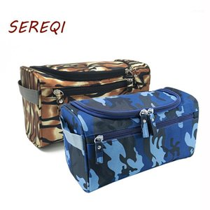Portable Leopard Print Makeup Bag Camouflage Cosmetic Multifunction Organizer Waterproof Travel Necessity Beauty Wash1