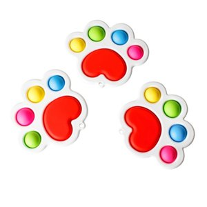 Gobang Rainbow Bubble Poppers Push Pop It Fidget Toys Sensory Bubbles Puzzle Adult Kids Anxiety Stress Reliever Poo Its Desktop Game HH41EPO8