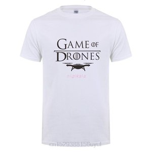 Omnitee Fashion New Game of Drones T Shirt Uomo O-Neck Cotton Manica Corta Man Manica uomo Drone T-shirt Mans
