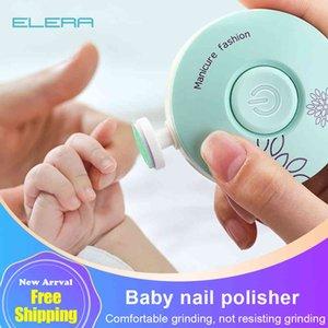 Elera Nieuwe Baby Elektrische Nail Trimmer Kid Nail Polijstmachine Tool Baby Care Kit Manicure Set Gemakkelijk Te Trim Nagelknipper voor_xm