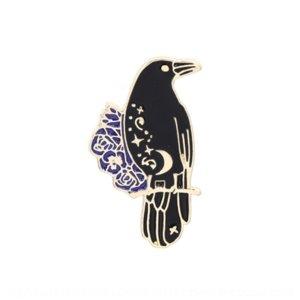 ZJX Giapponese e Accessorio Coreano Creativo Ranch Irs Abbigliamento Abbigliamento Spilla Pins Personalizzato Spille AG AccessoriJapanese e accessorio Badge