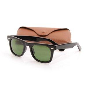 جودة عالية رجالي نظارات لوح المعادن المفصلي مصمم النظارات uv حماية الأزياء العين الرجال النظارات الفاخرة إمرأة نظارات زجاج عدسة زجاجي 50 ملليمتر و 54 ملليمتر