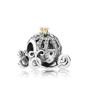 925 الفضة الاسترليني الملحقات سحر ل باندورا خمر سيارة الخرز سحر مجوهرات سوار ديي صنع