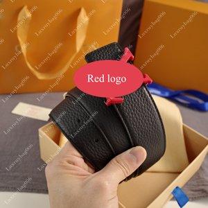 brand Men women Belt Genuine Leather Cowhide Belt for Mens luxury belt width 3.8cm with Original Box