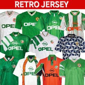 Retro vintage 1988 1990 1992 1994 1995 1996 1997 1998 Ireland soccer jersey Republic of Ireland football shirt National 90 World cup Northern Ireland 1993 kits