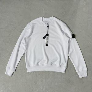 Diseñadores de moda para mujer algodón Casual sudadera con capucha para hombre de punto en blanco y negro Crewneck Jersey Classic Quality Sports Jumper 21081012ZY