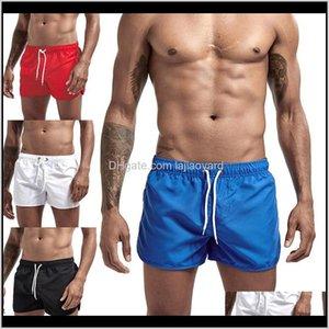تشغيل الرجال السراويل الصلبة اللون سريع الجافة تنفس قصيرة السراويل الشاطئ للرياضة calzoncillos قطرة vwu8o 3680y
