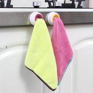 Вымойте ткань крюк клип посудомоечное хранилище стойки ванная полотенца висит держатель органайзер кухня чистящая подушка ручной полотенце стойки NHE6791