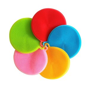 Cleaning Cloths More Function Silica Gel Wash The Dishes Brush Be Difficult Of With Oil Dishcloth Kitchen Bowl Household Clean Sponge