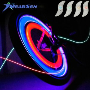 Willow LED Super Bright Bicycle Wheel Signal Tire Spoke Light Bike Accessories For Motorcycle Cycling Sports Lights