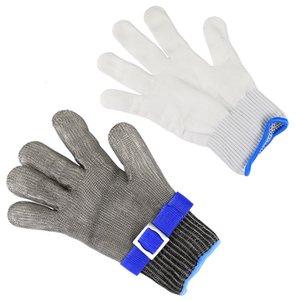 1PC en acier inoxydable de qualité 5 acier PE en acier anneau de fer gants de fer portant la montagne gauche droite en plein air est 320 z2