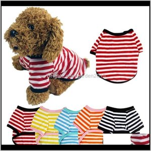 Pet Clothes Dog Vest Cat Clothing Summer Dogs Tshirt Puppy Clothers Small Cotton T Shirt Pug Apparel Costumes Dve0Y 5V4Rj