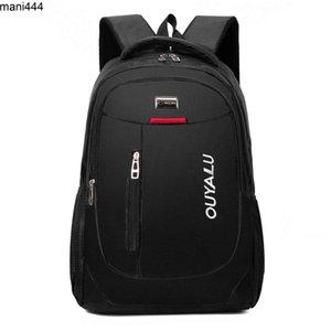 Men's backpack large capacity computer waterproof and wear resistant bag junior high school students'
