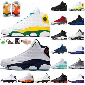 2021 With Box Jumpman 13 Womens Mens 13s Basketball Shoes Starfish Red Flint Playground Wheat Court Purple Retro Hyper Royal Sports Trainers