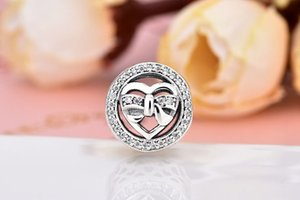 S925 Silver LOVER European Beads Charms Fit Pandora DIY bead for women bracelets jewelry Christmas gift
