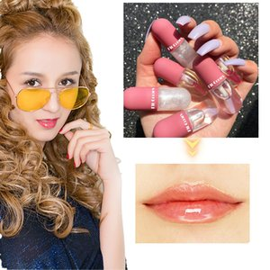 Fit Colors Mini Capsule Lip Gloss Crystal Jelly Lip Gloss Moisturizing transparent Color-changing Lip Gloss Oil Plump 12 pcs