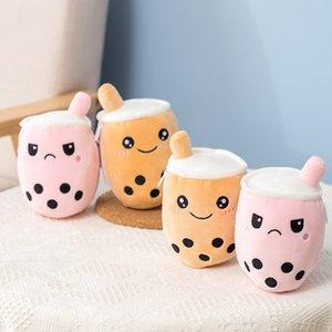가역적 인 바바 우유 차 컵 귀여운 소프트 치료 봉제 장난감 인형 인형 kawaii 아기 아이들 소녀 창조적 인 파티 생일 선물